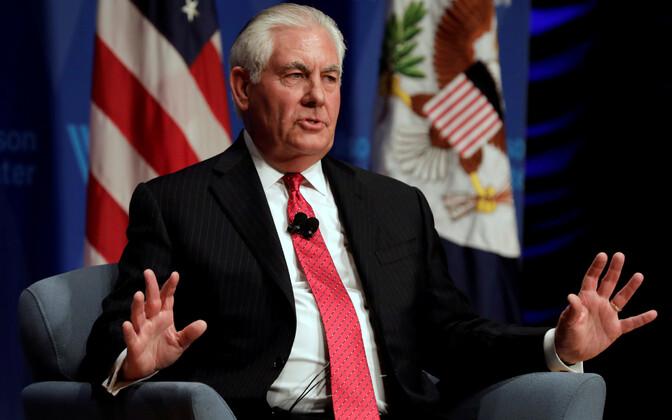 USA välisminister Rex Tillerson läheb Aafrikasse suhteid siluma.