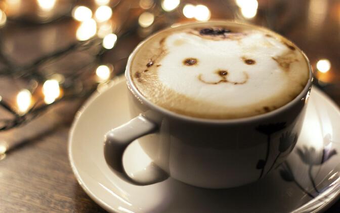 Latte esteetilist nauditavust saab tõsta ka kolmandas mõõtmes.