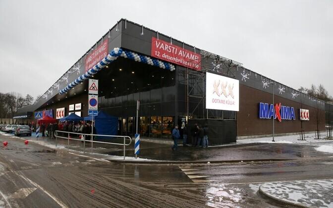 В 2017 году в Таллинне открылся еще один магазин Maxima XXX.