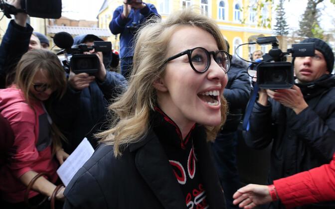 Ksenija Sobtšak.