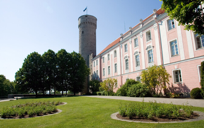 The Governor's Garden in Tallinn.
