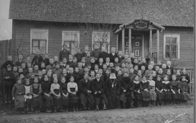 Õigeuslilk kihelkonnakool Antslas.