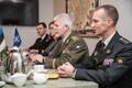 NATO sõjalise komitee esimehe kindral Petr Paveli visiit.