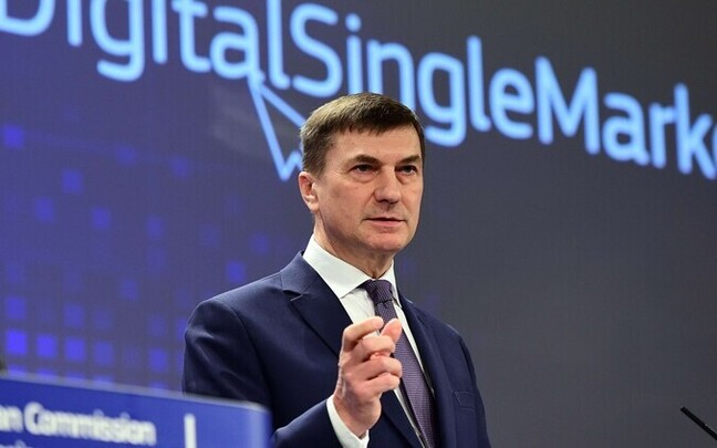 European Commission Vice-President for the Digital Single Market Andrus Ansip