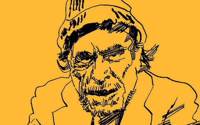 Charles Bukowski portree
