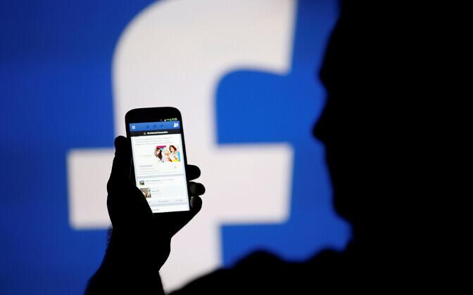Facebook nutitelefonis.