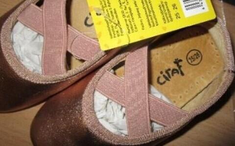Детская обувь Ciraf, произведенная в Китае, содержала слишком много хрома.
