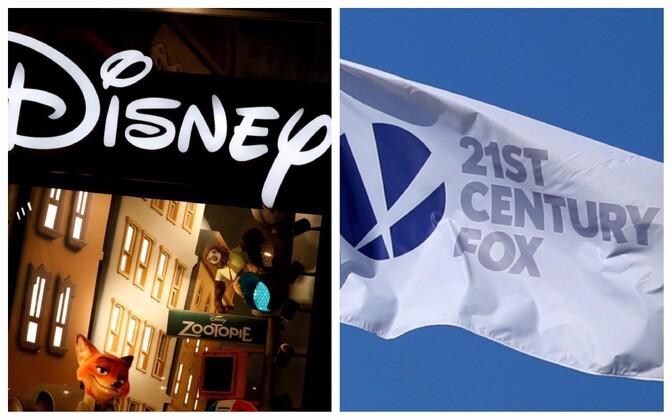 Walt Disney Co ja  21st Century Fox.