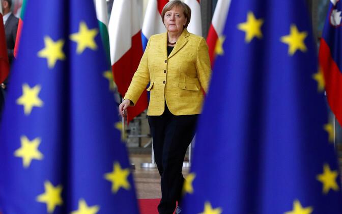 Saksamaa liidukantsler Angela Merkel 14. detsembril Brüsselis.