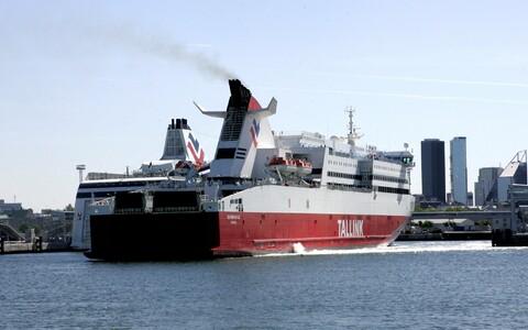 Superfast в таллинском порту.
