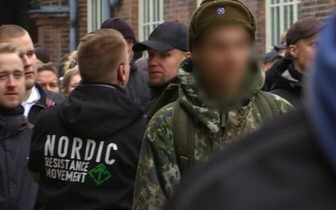 Финского солдата оштрфовали за участие в неонацисткой демонстрации.