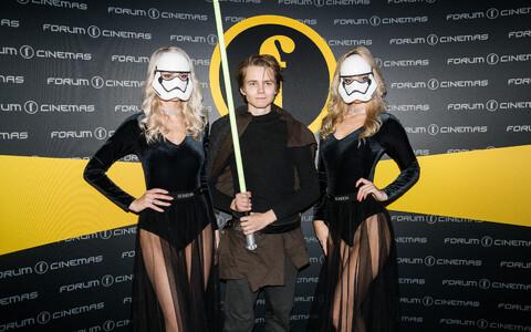 Star Warsi 8. osa jõudis Eestisse