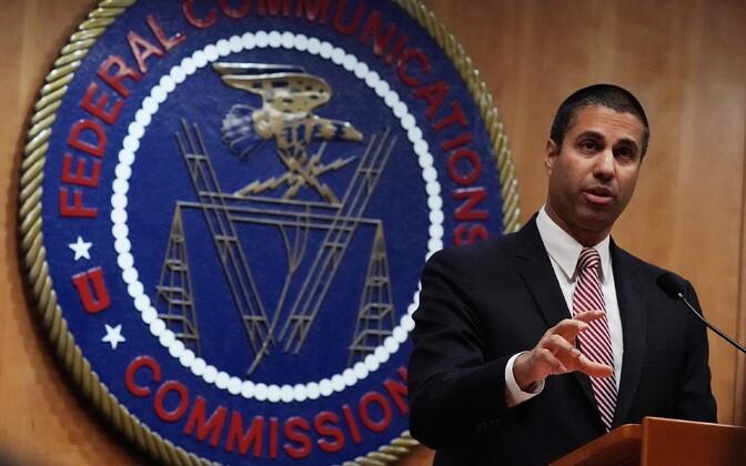 USA föderaalse kommunikasioonikomisjoni  juht Ajit Pai.