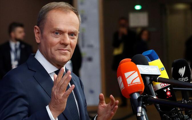 Глава Евросоюза Дональд Туск.