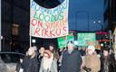 Metsakaitsjate meeleavaldus Tallinnas.