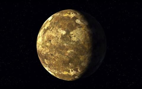 Vastleitud eksoplaneet Kepler-90i kunstniku nägemuses.