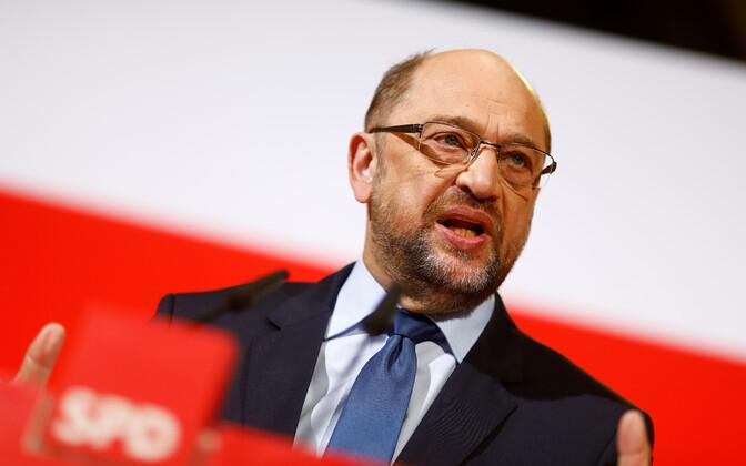 SPD liider Martin Schulz.