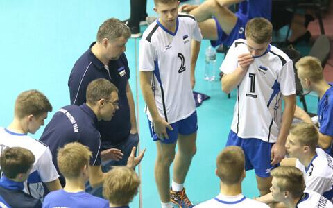 Eesti noormeeste U-17 võrkpallikoondis