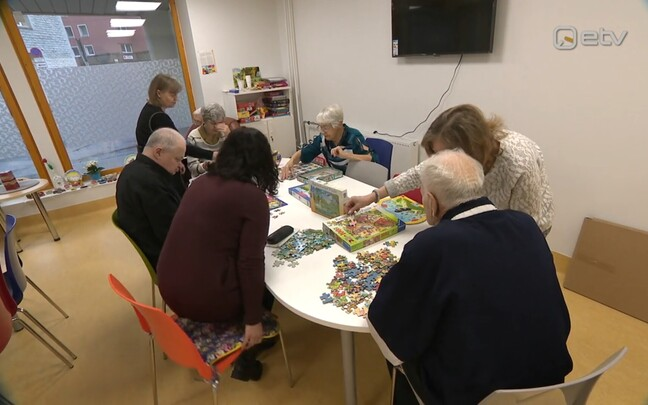 Tallinna kesklinna sotsiaalkeskuse mäluhäiretega eakate päevahoid