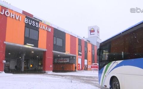 Автовокзал в Йыхви