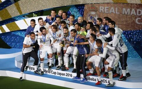 2016. aastal võidutses jalgpalliklubide MM-il Madridi Real.