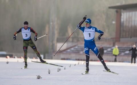 Kristjan Ilves eelmisel talvel Otepää kontinentaalkarika etapil.