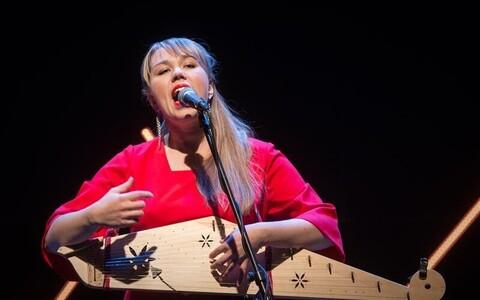 Mari Kalkun esitles albumit