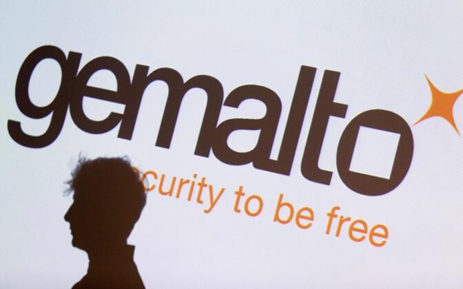 Logo of former Estonian ID Card provider Gemalto AS.