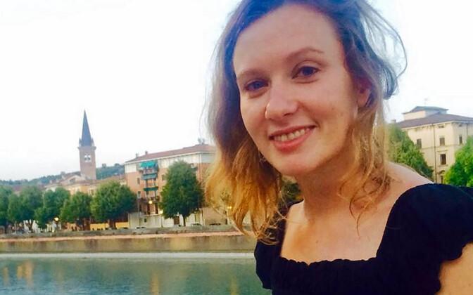 Liibanonis tapetud Rebecca Dykes.