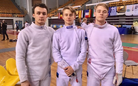 Andzej Gedzo, Ilian Bobrov, Ruslan Eskov
