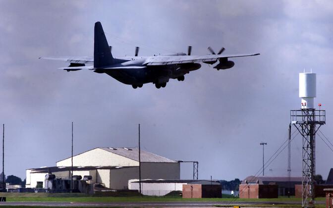 Mildenhalli õhuväebaas Suurbritannias Suffolki krahvkonnas.