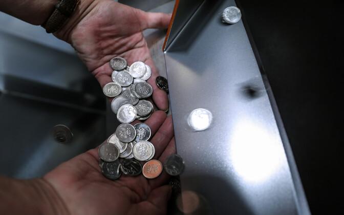 Rublased mündid.