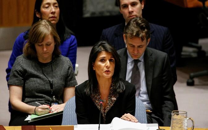 Постпред США в ООН Никки Хейли.
