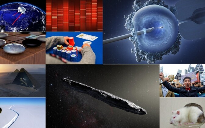 Valik teadussaavutusi laiast maailmast.