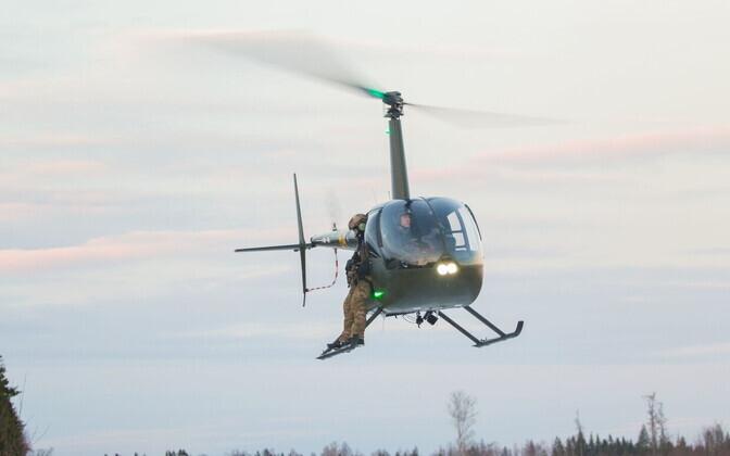 Õhuväe ja K-komando ühiharjutus.