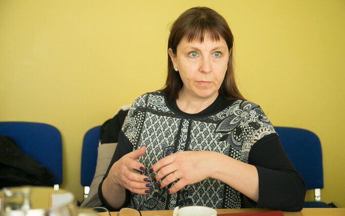 MP Tiina Kangro.