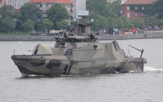 Ракетный катер класса Hamina ВМС Финляндии.