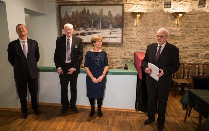 Kristi ja Siim Kallase fondi stipendiumi üleandmine