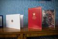 Pühad presidendi kantseleis, Norra ja Taani kuningaperede tervitused