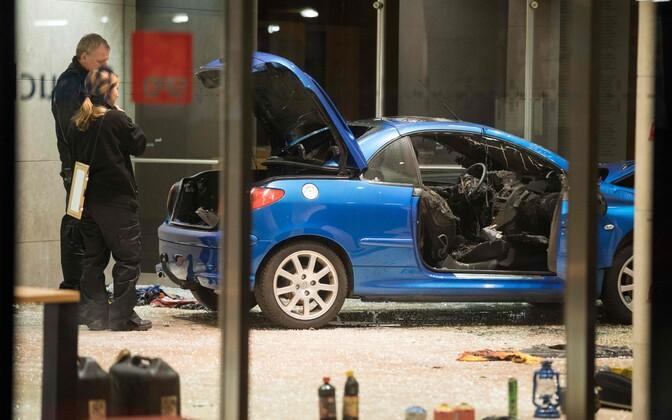ВБерлине шофёр протаранил сооружение штаб-квартиры СДПГ