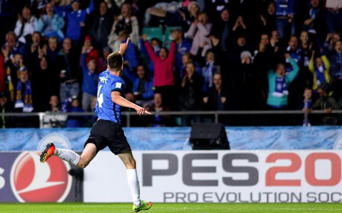 Septembris alistas Eesti koondis jalgpalli MM-valikmängus Mattias Käiti üleminutite väravast 1:0 Küprose.