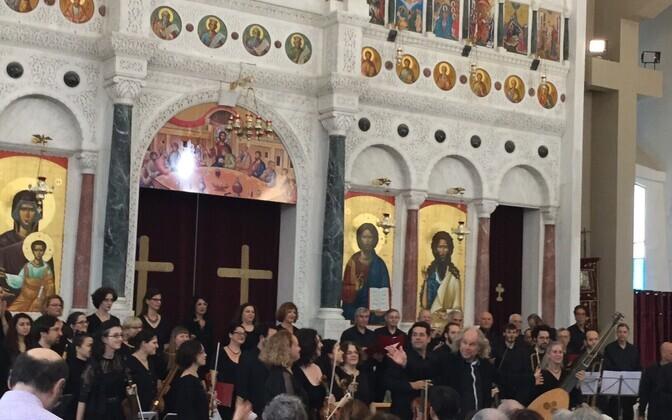 Kontsert Haifas 23. detsembril