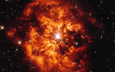 Tegelikult ei pärinegi Päikesesüsteemi aine supernoovast, vaid hoopis Wolf-Rayet' tüüpi tähest.