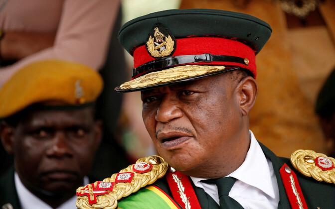 Zimbabwe erukindral Constantino Chiwenga.