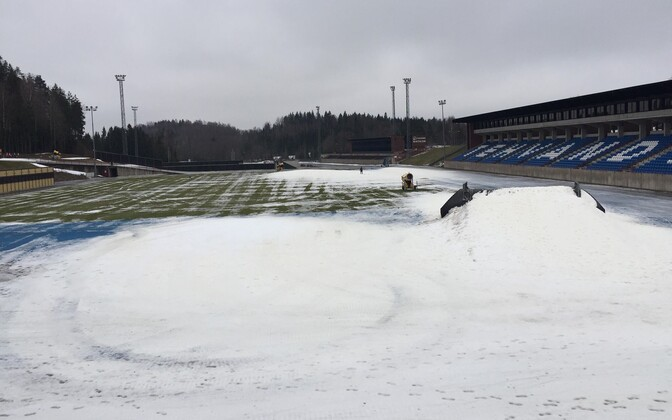 Tehvandi Stadium in Otepää.