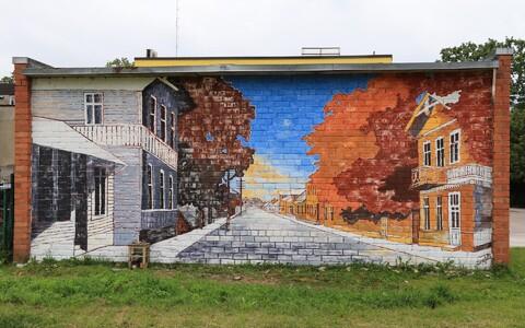 Järvamaa seinamaaling