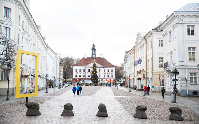 The city of Tartu expanded as a result of the administrative reform.