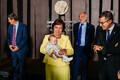 Haridusministrite perepildi kõige väiksem osaline on Mailis Repsi pisitütar Charlotte.