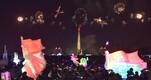 Uue aasta ilutulestik Põhja-Korea pealinnas Pyongyangis.