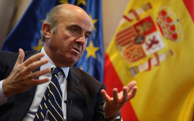 Hispaania majandusminister Luis de Guindos.